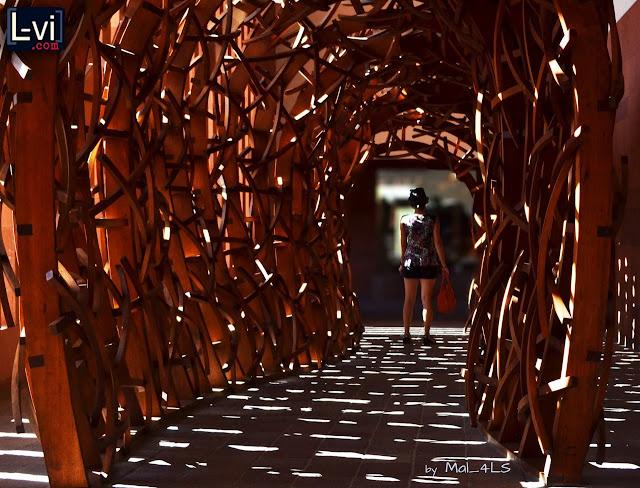 Lucebuona de visita en el museo