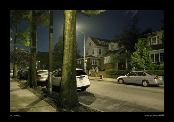 no parking, brooklyn ny usa 2012