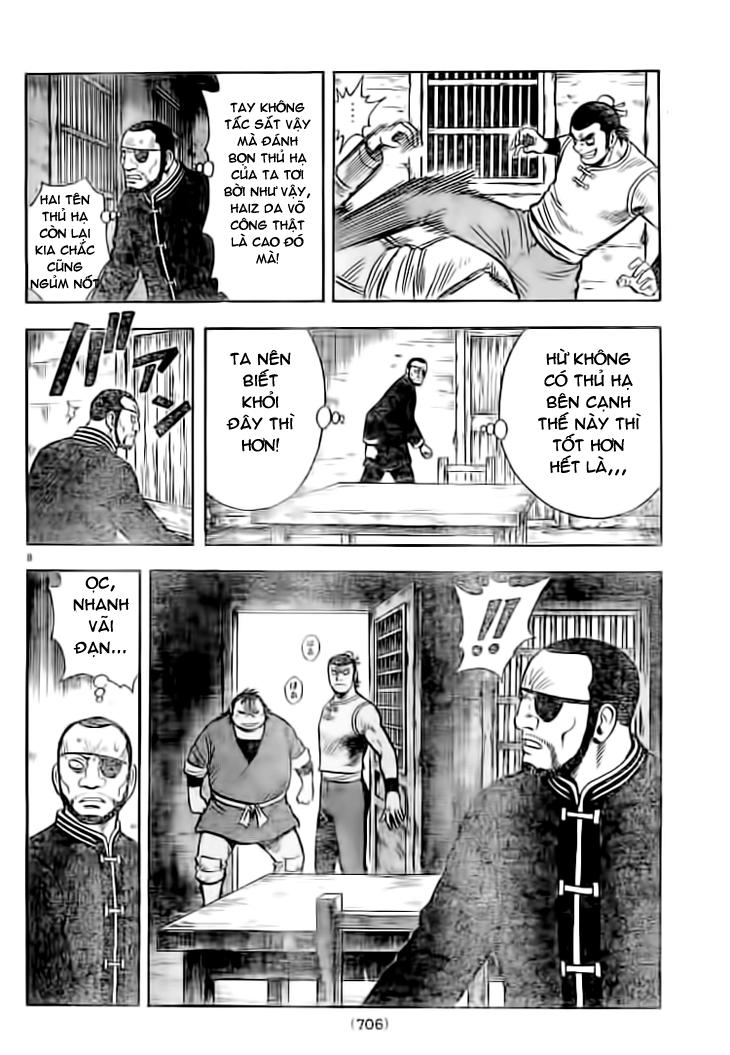 Hoàng Phi Hồng Phần 4 chap 70 Trang 8