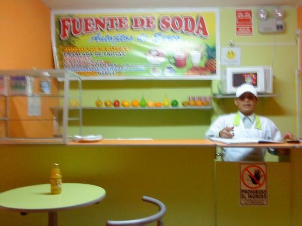 Fente de soda fuente de soda for Sillas para fuente de soda