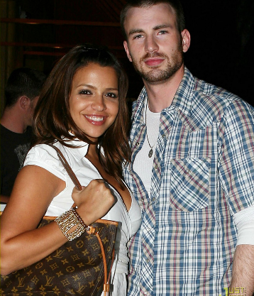 chris evans actor with girlfriend photos 2012 hollywood