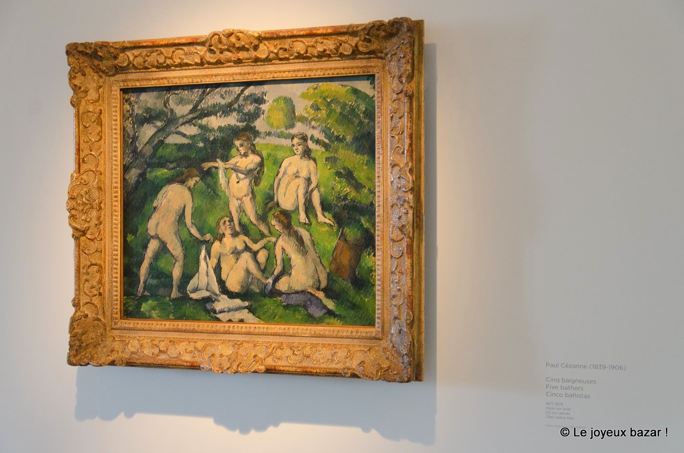 Musee Picasso - Paris - Cezanne
