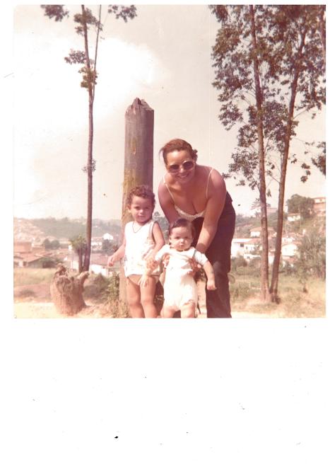 Uma bebe fofinha / Parque Guarapiranga 1976
