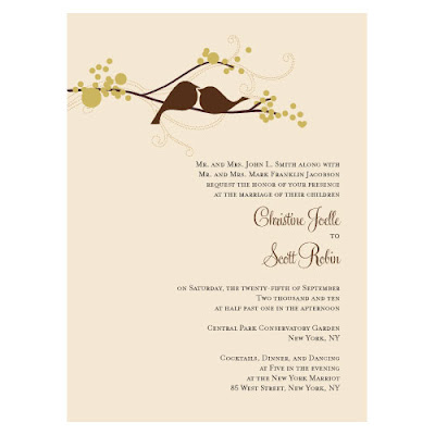 bird themed wedding invitations:Photo's of Famous People