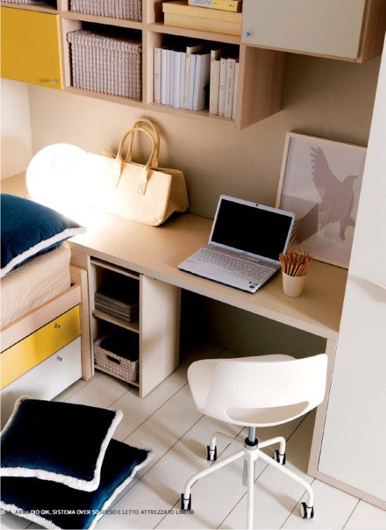 Arredamento e casa la scrivania arredare le camerette for Arredamento ragazzi