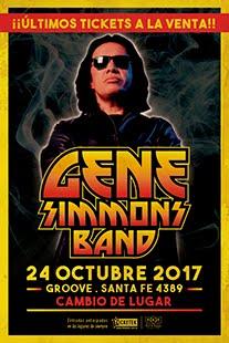 Gene Simmons Band en Argentina