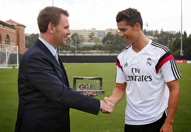 Cristiano Ronaldo gana el Goal 50