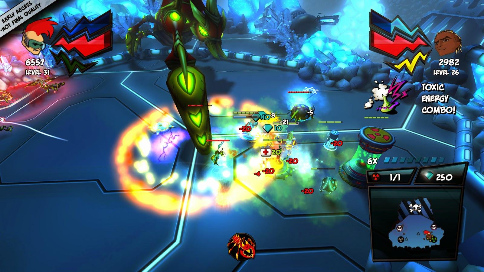ZAMB! Biomutant Extermination screenshots