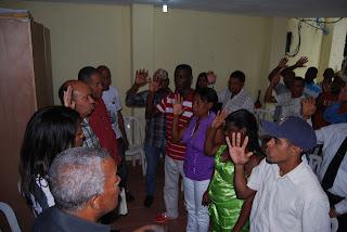 Sector Externo juramenta Ex peledeístas en San Isidro