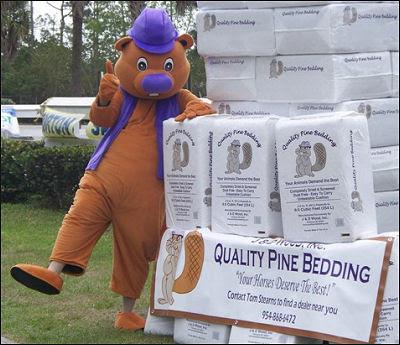 preakness 2011 mascot. company mascot Woody The