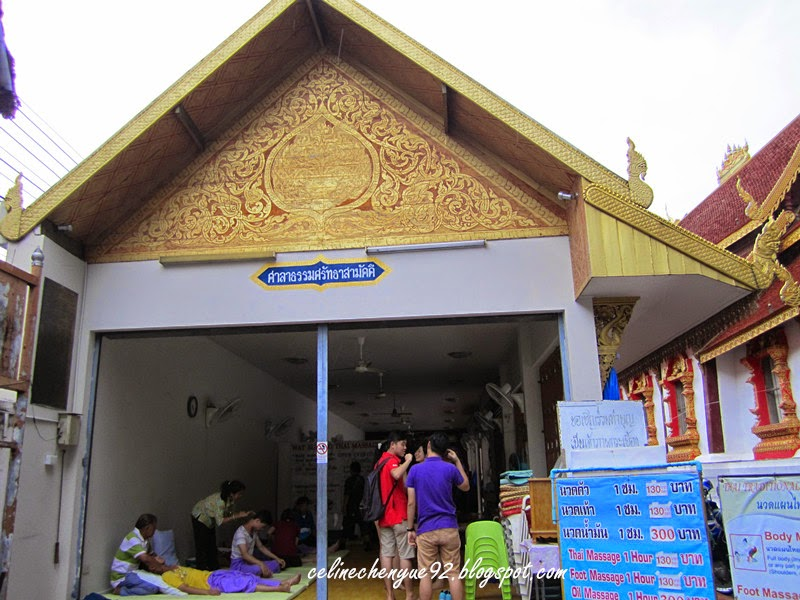 A cycling day in chiang mai old city celine 39 s world for Classic house chiang mai massage