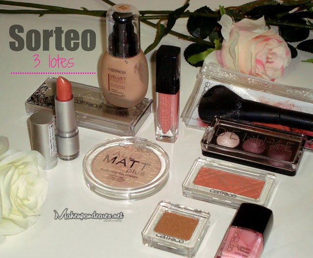 Sorteo en Make Up and cares