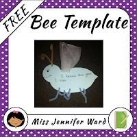 https://www.teacherspayteachers.com/Product/Bee-Template-FREE-2293349