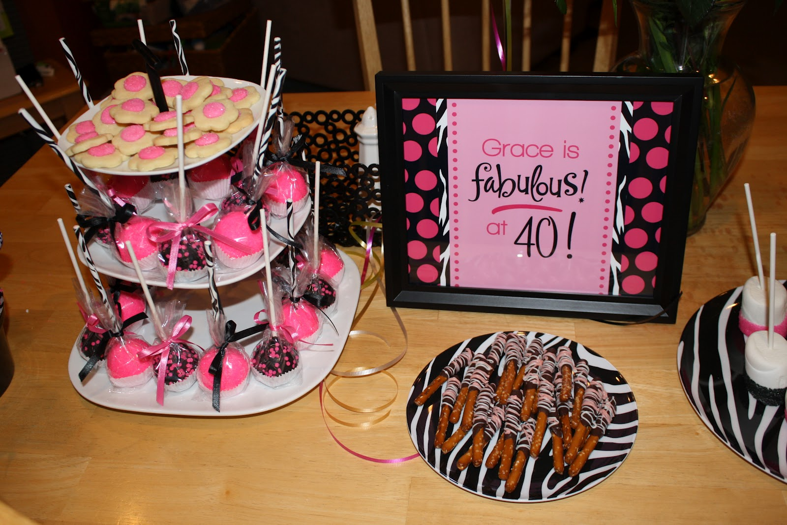 Halloween decorations ideas homemade for kids - Krinkledkrafts 40th Birthday Party
