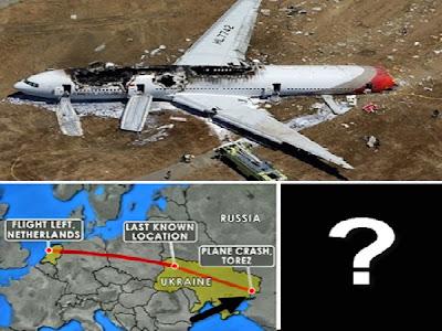 Ουκρανία: Στημένη η πτώση του Μαλαισιανού αεροπλάνου