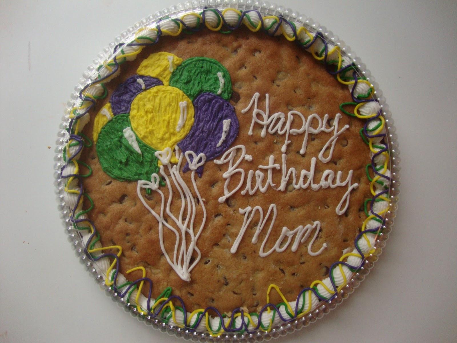 Cookie Cake Designs For 21st Birthday : Sweet Delightz: Happy Birthday Cookie Cake