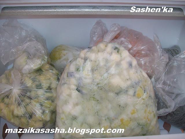 Заморозить кабачки на зиму рецепты пошагово