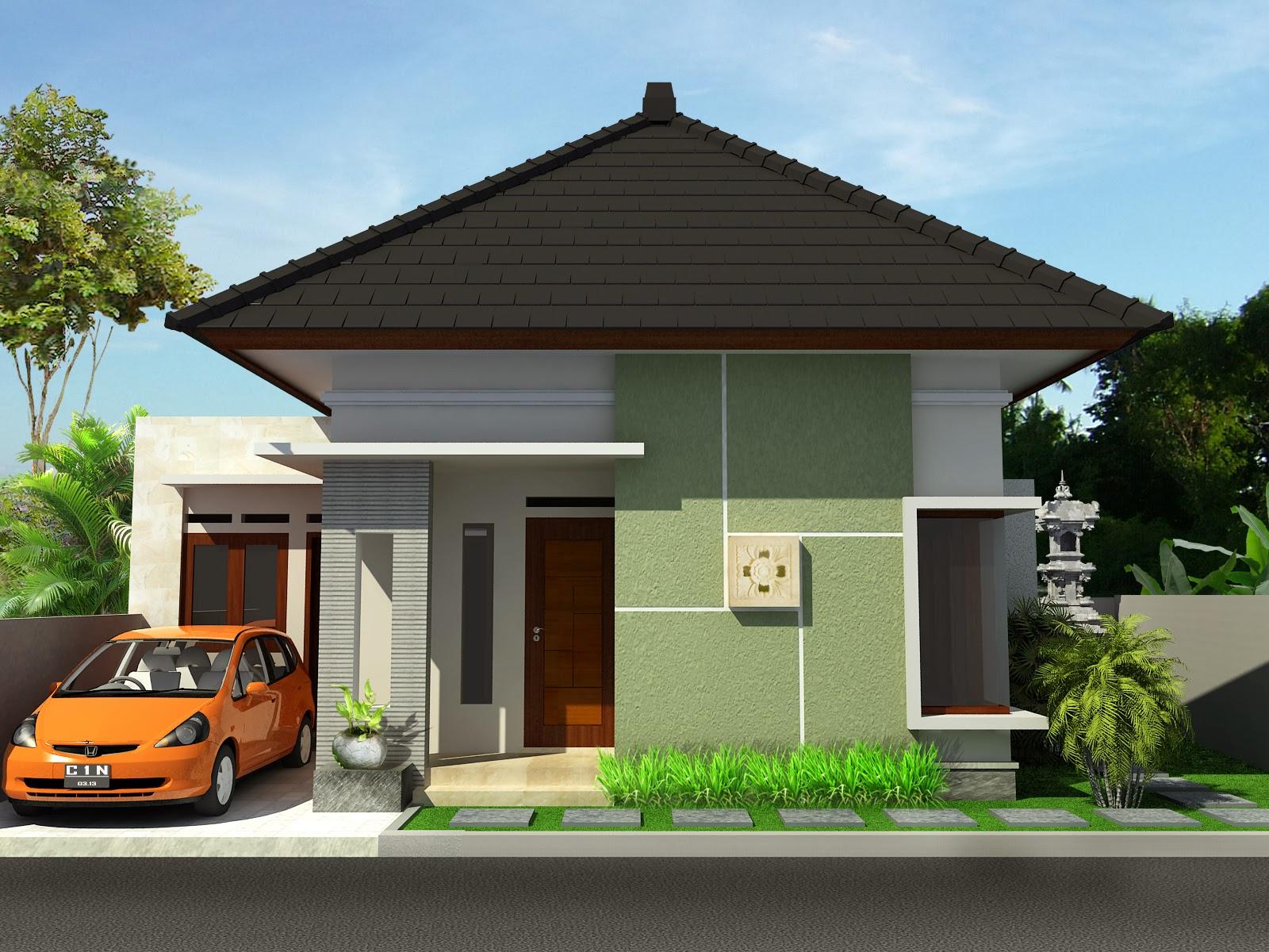 Desain Rumah Minimalis 1 Lantai Sederhana Terbaru 2020