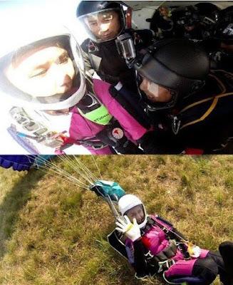 Dunia Kpop Berduka.. Bintang Film Cantik Jung In Ah Tewas Ketika Berlatih Skydiving