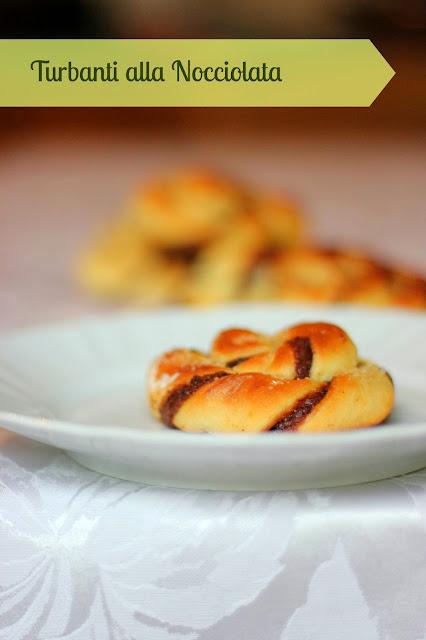 don't worry,be happy - turbanti di pan brioche alla nocciolata