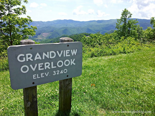 The Blue Ridge Parkway, High Country in the Sumner.