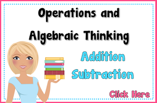 Operations and Algebraic Thinking Addition and Subtraction