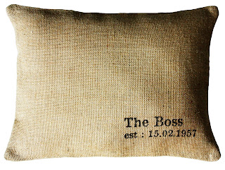 The Boss cushion