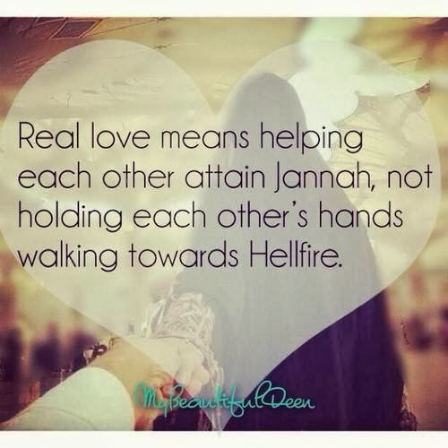 Real LOve ~ Islamic Poems Articles Stories Quotes