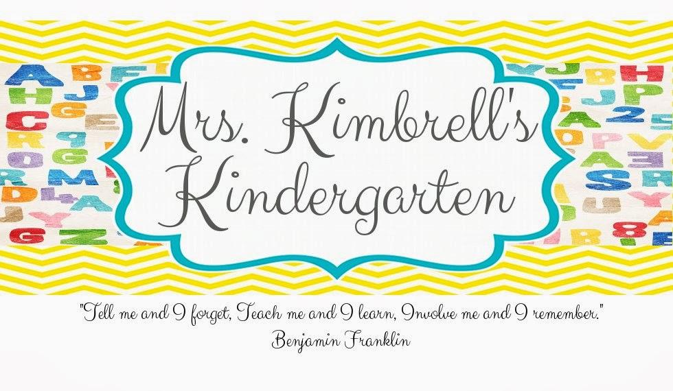 Mrs. Kimbrell's Kindergarten