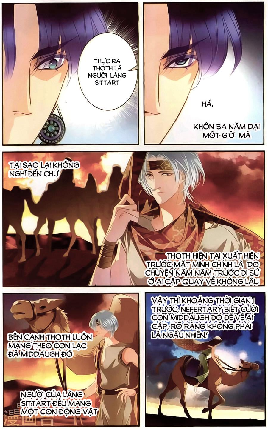 Sủng Phi Của Pharaoh Chap 63 - Trang 15