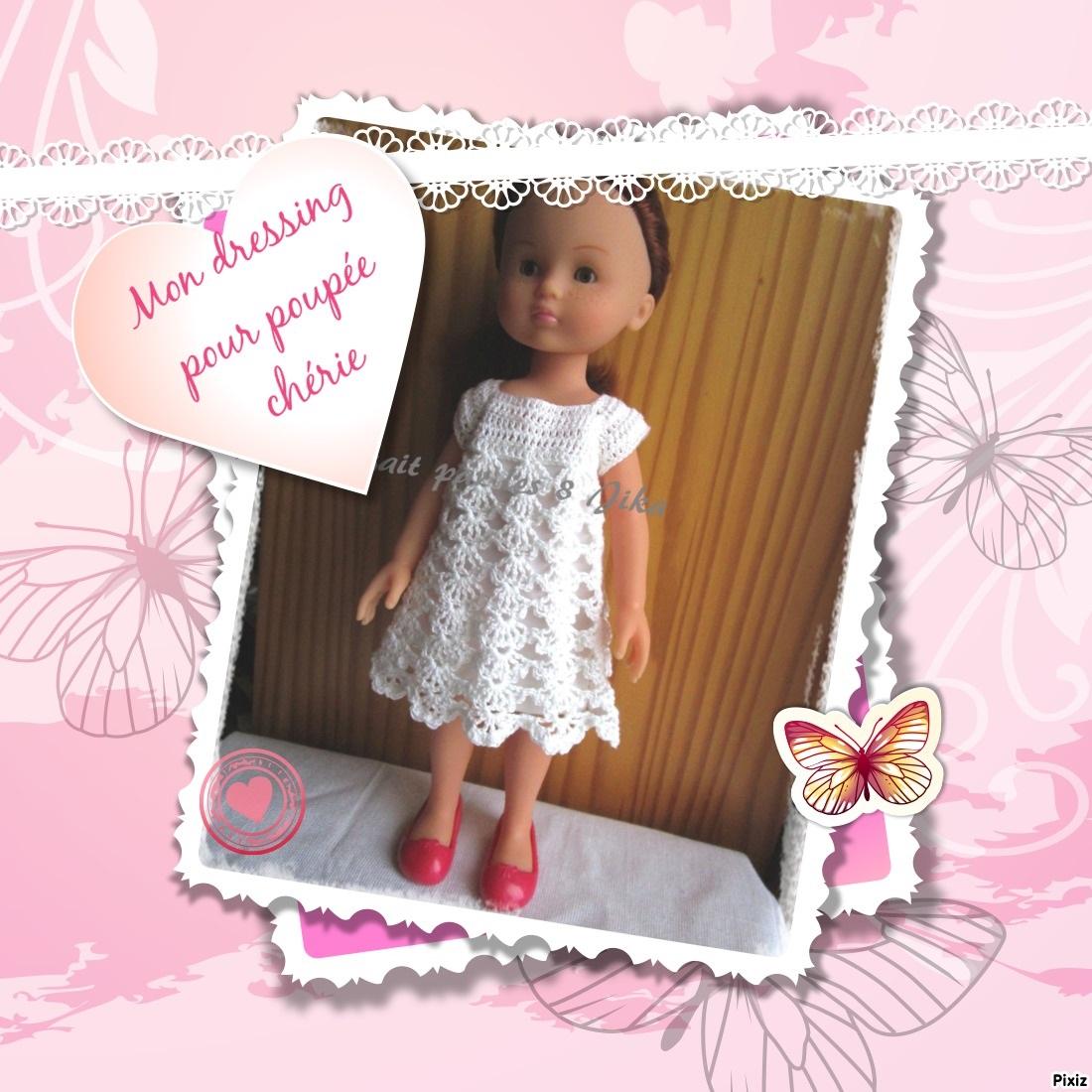 mon dressing pour poupée chérie