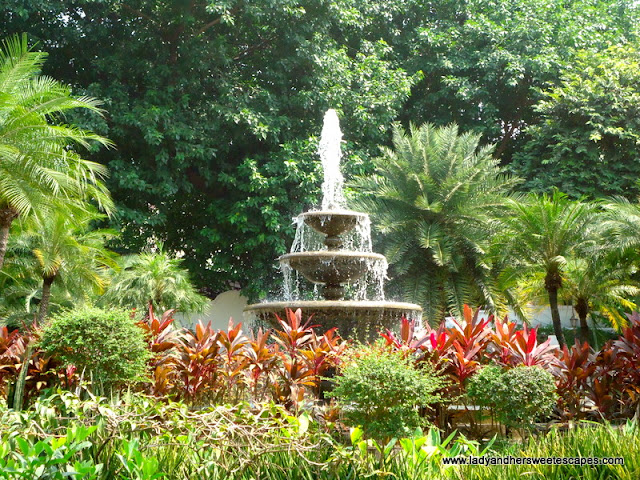 fountain at fort Santiago