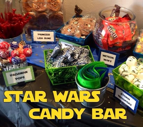 The Busy Broad: Star Wars Candy Bar