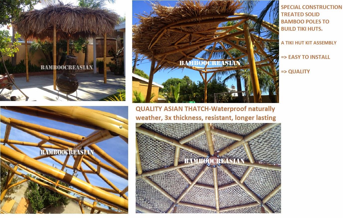 Bamboo materialsfor constructionecofriendly building interior