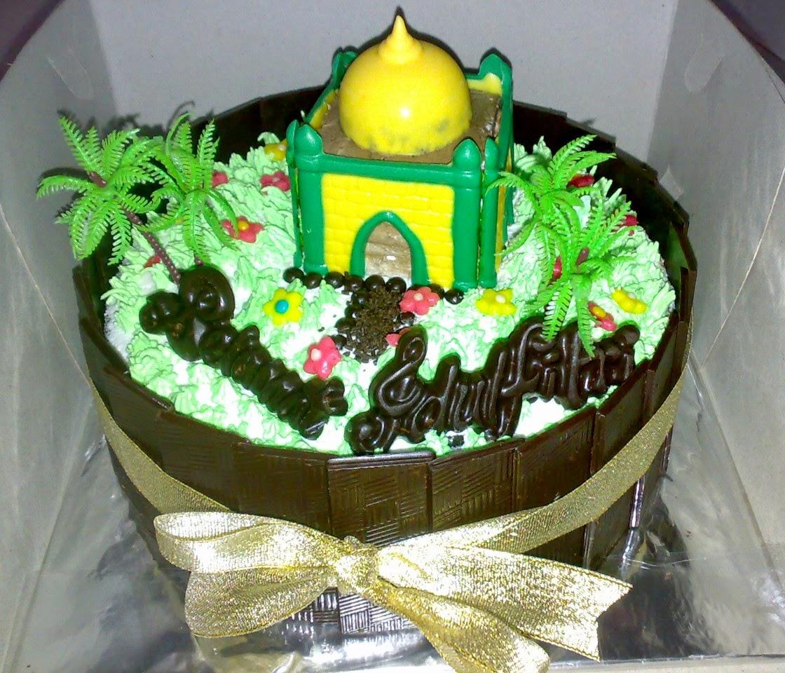 Cake untuk hantaran, cake parcel lebaran