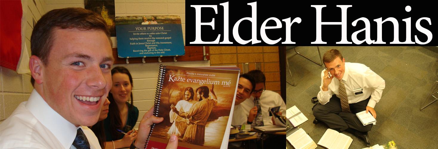Elder Tyler Hanis