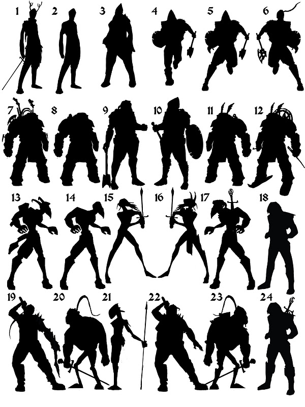 Character Design Silhouette : Images about character silhouette on pinterest