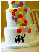 Balloon Cake! (balloon cake)