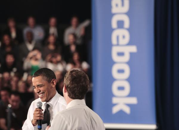 600ap zuckerbergobama7 062405 [UPDATE] Foto   Foto Kunjungan Barrack Obama Ke Kantor Pusat Facebook