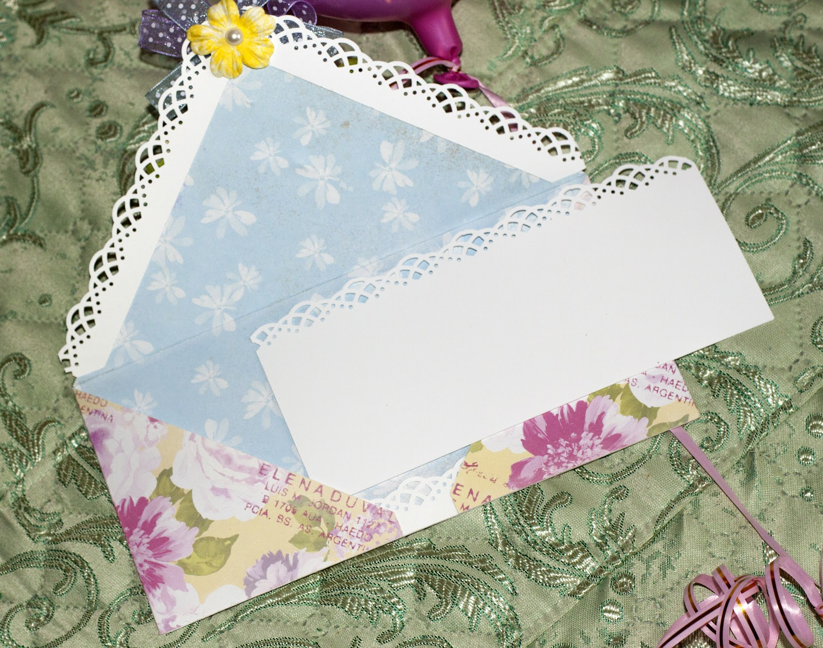 Как сделать конвертик для карточек