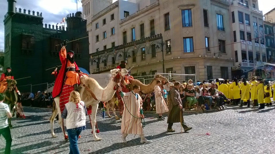 Dromedarios, no camellos