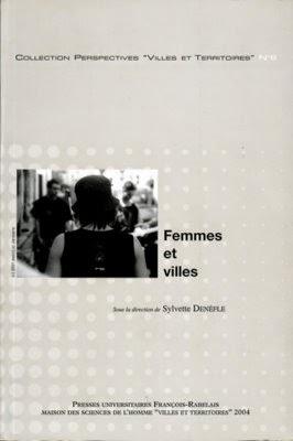 Ouvrage Femmes et Villes de Denèfle Sylvette