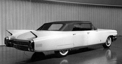 Burlappcar: What could have been: 1960 4 door Cadillac Convertible