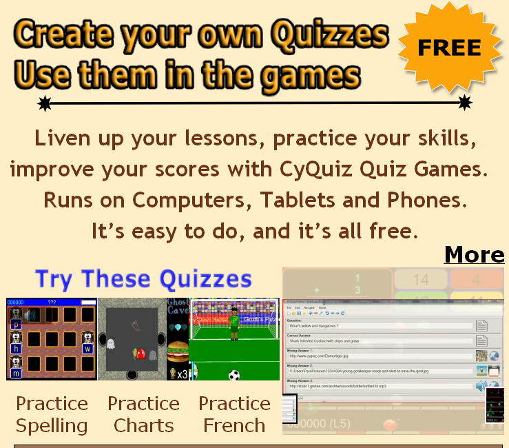 Educational Technology Guy Cyquiz Create Your Own