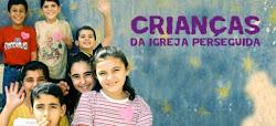 crianças da igreja perseguida