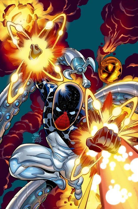 Cosmic spider man - photo#9