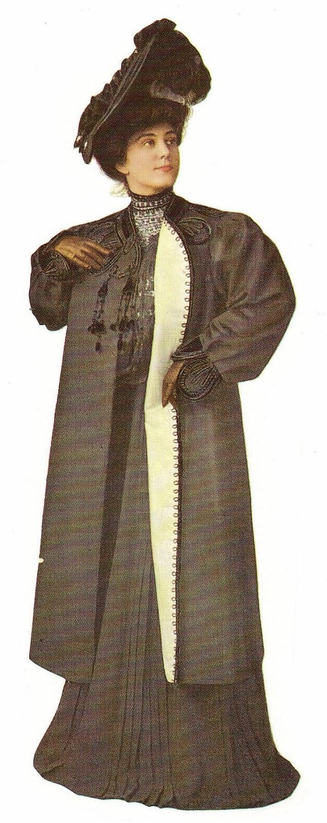 Vestido de época, siglo XX principios