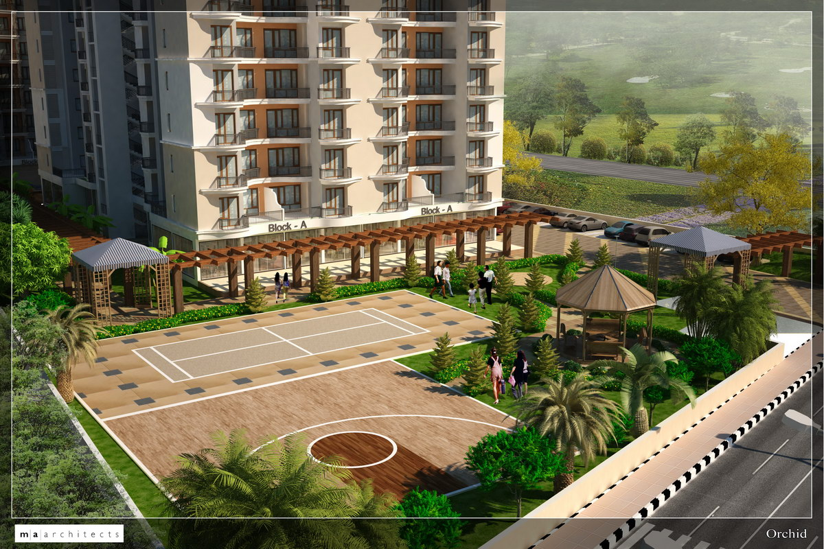 3d architectural visualization apartments in jaipur - 3d architectural visualization ...