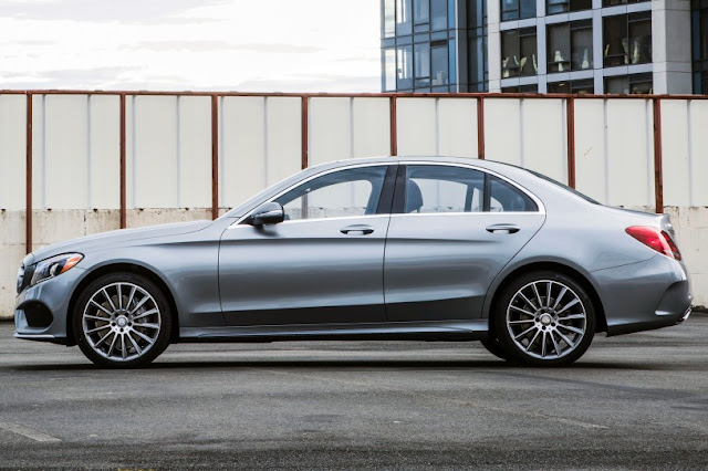 2015 All New Mercedes-Benz C-Class exclusive side view