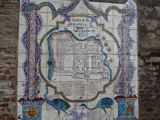 Plano antiguo de Colonia del Sacramento